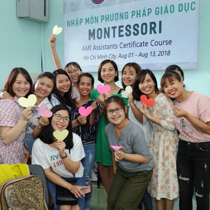 Đào tạo giáo viên Montessori Trung tâm Đào tạo Quốc tế CIE