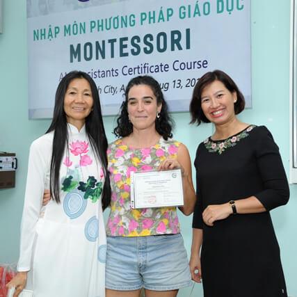 Nhập môn PPGD MONTESSORI Trung tâm Đào tạo Quốc tế CIE