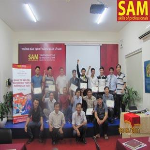 Giám sát bán hàng chuyên nghiệp Trường Đào Tạo Kỹ Năng Quản Lí SAM
