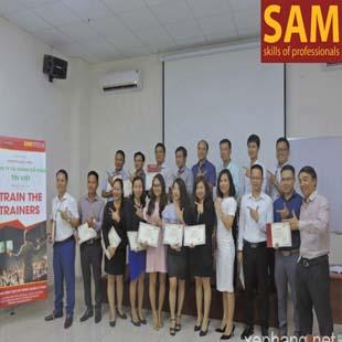 Chuyên viên quản lí chất lượng chuyên nghiệp Trường Đào Tạo Kỹ Năng Quản Lí SAM