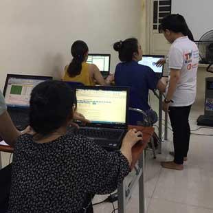 tin học văn phòng Excel cho doanh nghiệp Trung tâm Tin học Trí Tuệ Việt
