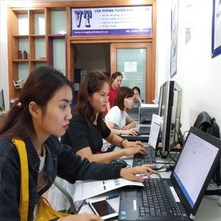 Tin học văn phòng Bảng tính điện tử Trung tâm Tin học VT