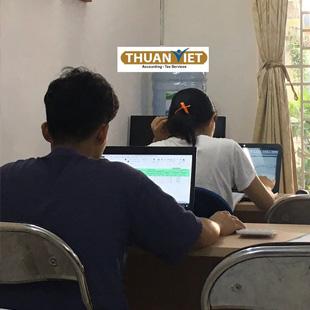 Kế toán thực hành về doanh nghiệp Thương mại Trung tâm kế toán thực hành Thuận Việt