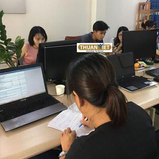 Làm báo cáo tài chính cuối năm Trung tâm kế toán thực hành Thuận Việt