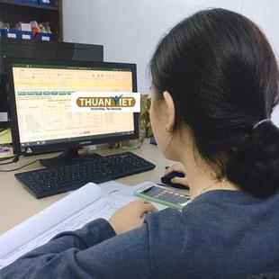 Kế toán thực hành khai báo Thuế Trung tâm kế toán thực hành Thuận Việt