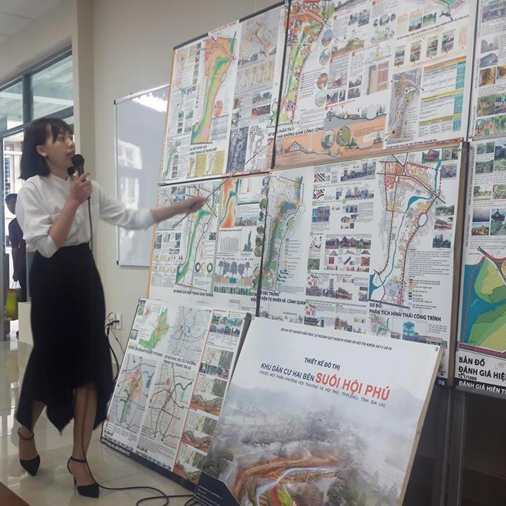 Kiến trúc sư Quy hoạch vùng và đô thị - hệ vừa học vừa làm - Đại học Xây dựng
