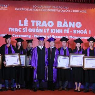 Thạc sĩ Quản lý kinh tế - Trường Công nghệ và Quản lý Hữu Nghị (UTM)