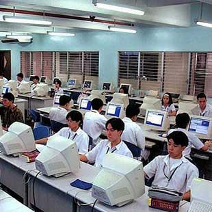 Trung cấp Tin học ứng dụng Đại học KT KT Bình Dương