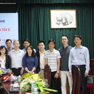 Tiến sĩ Kỹ thuật Viễn thông - Đại học Bách khoa Hà Nội